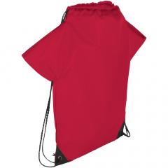 Tas met groot hoofdvak met trekkoordsluiting. Als schoudertas en als rugzak te dragen. Verstevigde hoeken.