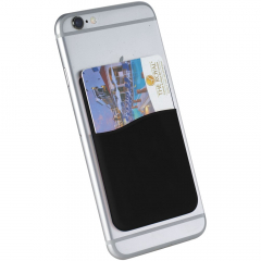 The ideal accessory for your smartphone. The Slim Silicone Card Wallet attaches to the back of your device with the adhesive tape. It holds 1 credit card, identification card, room key card, or cash, perfect for times when you don't want to carry a bag, or just want to keep all your valuables safely together.