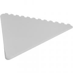 Driehoekige ijskrabber voor het schrapen van de voorruit met een groot decoratiegebied. Alle 3 de zijden kunnen worden gebruikt om ijs van de voorruit te verwijderen.  Gemaakt in het Verenigd Koninkrijk van gerecycled polystyreen plastic.