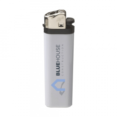 High quality lighter from the brand Flameclub®, with an adjustable flame. Equipped with child lock. Equipped with child lock.  TÜV-certified.