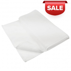 The fitness towel is made of 70% cotton and 30% polyester 400 gr/m², is extra long and narrow so that it fits perfectly with your yoga or sports mat. With this towel, you'll last through even the toughest sports sessions. The basic colour of the towel is white. No border. With a great print on the outside, it's a real eye-catcher. Embroidery on request. Format: 130x30 cm.