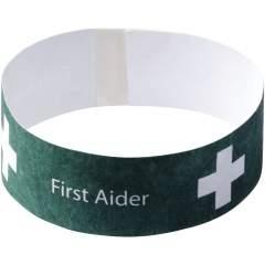 Ein in Großbritannien hergestelltes Armband, das sich ideal für den Einsatz bei Einzelveranstaltungen eignet. Die Klebelasche verhindert, dass das Armband verloren geht, und ist somit der perfekte Sicherheitspass für Partys und Veranstaltungen.