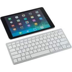 Petit, léger et pratique, ce clavier QWERTY est parfait pour se connecter avec des tablettes, smartphones, smart TV et tous types d'appareils en Bluetooth. Distance de connexion jusqu'à 10m. Livré dans une boîte cadeau noire.