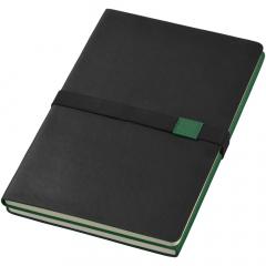 Ce bloc-notes 2 en 1 (format A5) est la solution idéale pour mener deux projets de front. Deux couvertures de couleur différente identifient les deux parties du bloc-notes. Il suffit de le retourner pour changer de projet. Comprend 64 feuilles lignées (80g), Présenté dans une pochette cadeau Journalbooks.