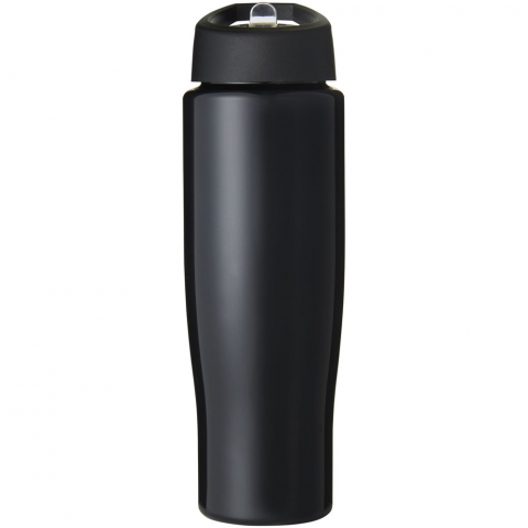 Single-wall sport bottle with a stylish, slimline design. Bottle is made from recyclable PET material. Features a spill-proof lid with flip-top drinking spout. Volume capacity is 700 ml. Mix and match colours to create your perfect bottle. Contact customer service for additional colour options. Made in the UK. Packed in a home-compostable bag.