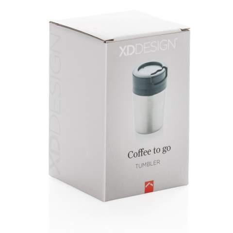 Weniger ist mehr. Mit einer Höhe von nur 8cm passt dieser doppelwandiger Becher perfekt unter Ihre Kaffeemaschine. PP im Inneren. Perfekt für Ristretto, Espresso und Kaffee Lungo. Nur Handwäsche. Inhalt: 160ml. Geschütztes Design®