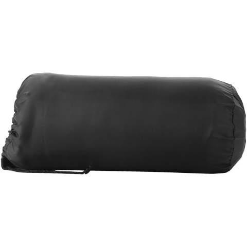 Einfarbige Decke mit handlichem Beutel und Kordelzugverschluss. Deckengröße beträgt 150 x 120 cm.