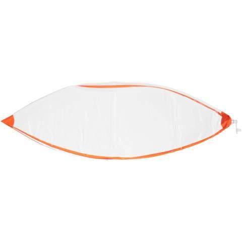 Aufblasbarer Wasserball mit einem aufgeblasenen Durchmesser von 40 cm, konform mit EN71.