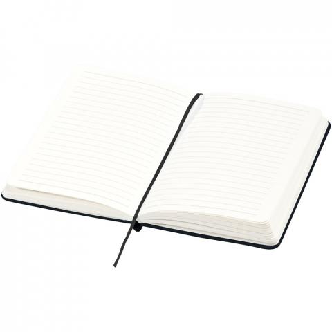 Ce carnet de notes cartonné au design classique exclusif avec fermeture élastique et 80 feuilles à lignes (80gr) est idéal pour écrire et partager des notes. Dispose d'une poche extensible à l'arrière pour garder de petites notes. Avec présentation dans étui cadeau Journalbooks.