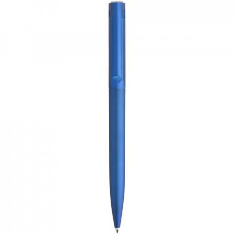 Ballpoint pen with twist action mechanism.