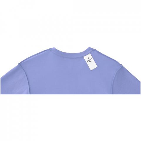 Option de personnalisation intérieur. Étiquette principale amovible pour un confort sans étiquetage. Tricot tubulaire. Col ras du cou. Col côte en tricot plat. Bande de propreté du même tissu.