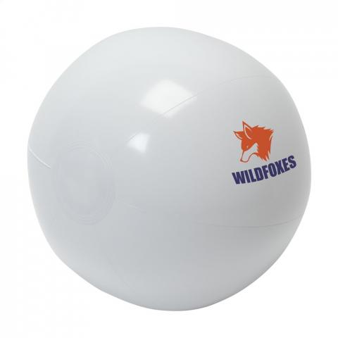 Aufblasbarer Spielball.