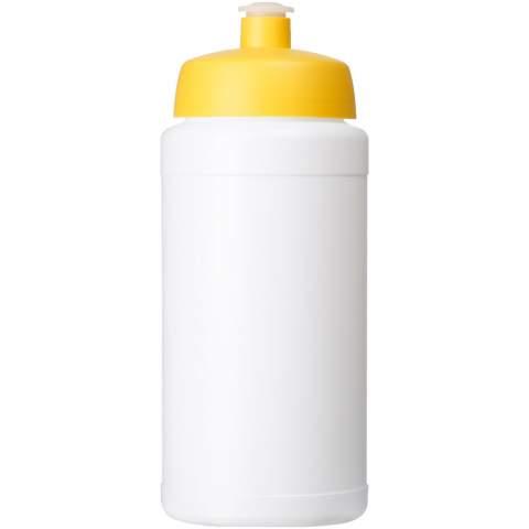 Einwandige Sportflasche. Verfügt über einen auslaufsicheren Deckel mit Push-Pull-Tülle. Das Fassungsvermögen beträgt 500 ml. Mischen und kombinieren Sie Farben, um Ihre perfekte Flasche zu kreieren. Kontaktieren Sie uns bezüglich weiterer Farboptionen. Hergestellt in Großbritannien.