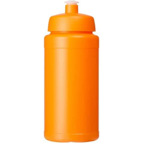 Bouteille de sport à simple paroi. Dispose d'un couvercle anti-déversement avec bec à système de pression-traction. Capacité de 500 ml. Couleurs à mélanger et assortir pour créer la bouteille parfaite. Contactez-nous pour plus d'options de couleurs. Fabriqué au Royaume-Uni.