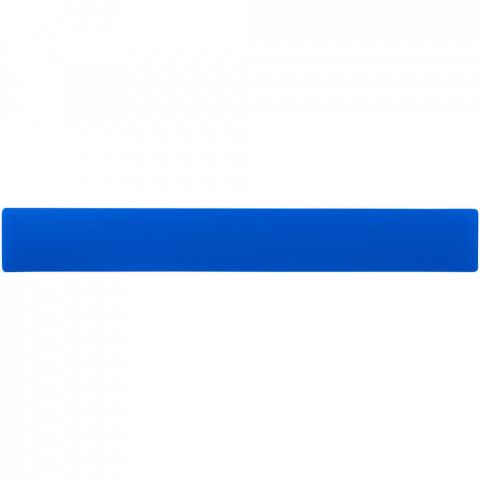 Flexibele lichtgewicht kunststof liniaal met zowel markeringen in inches als centimeters.