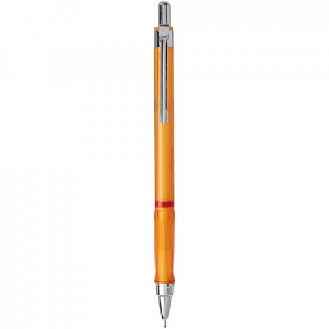 Vulpotlood met klikmechanisme voor dynamisch schrijven en schetsen. Voorzien van een metalen mechanisme met intrekbare stiftjes. Driehoekige greep voor ontspannen handligging. Intrekbare punt met stiftjes van 2B-hoogpolymeer. Stiftmaat: 0,7mm.