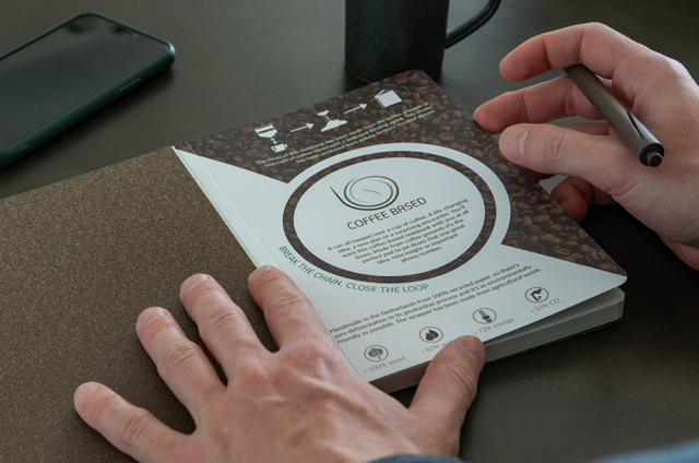 Ecologische notitieboekjes bedrukken jouw logo